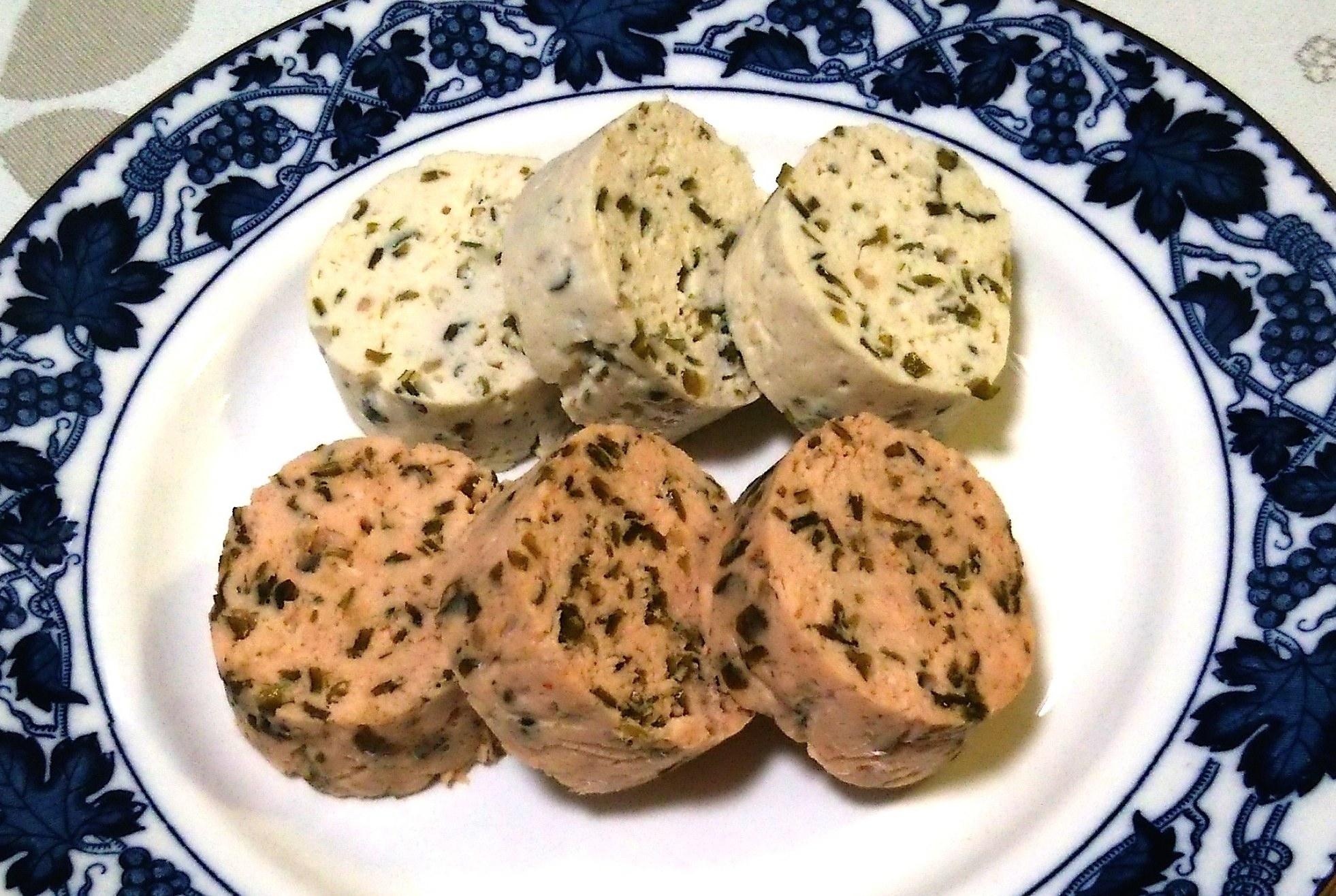 つる太郎~鮭と鶏のソーセージ